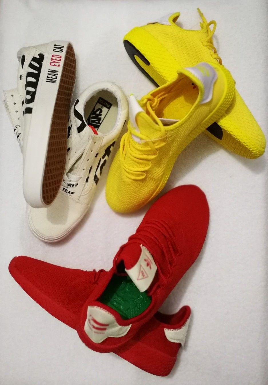 afa4a91b04a27b  Patta x Vans old school  Adidas Pharrell Williams Tennis Hu ❤  newin  +3