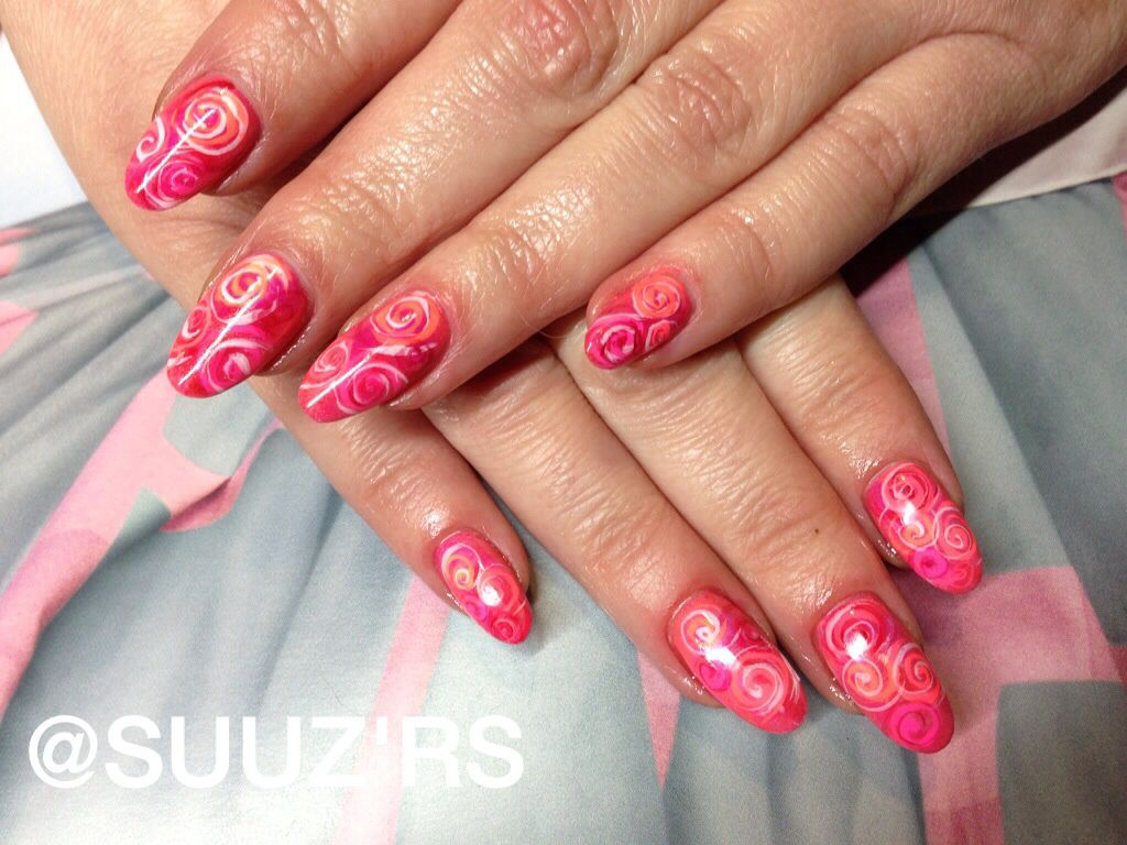 Cnd Shellac Additives Handpainting Nailart Girlie Pinterest