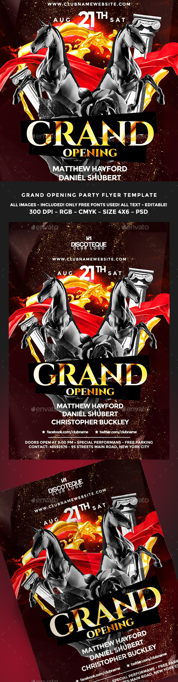 Opening Flyer  Grand Opening Psd Templates And Flyer Size