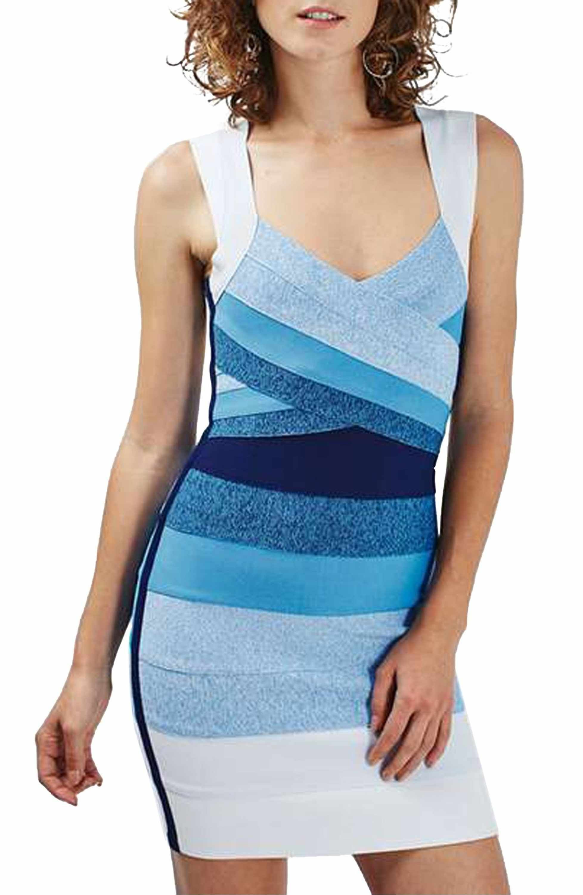 Topshop Ombre Bandage Body Con Dress Nordstrom Bodycon Dress Dresses Nordstrom Dresses [ 3000 x 1956 Pixel ]