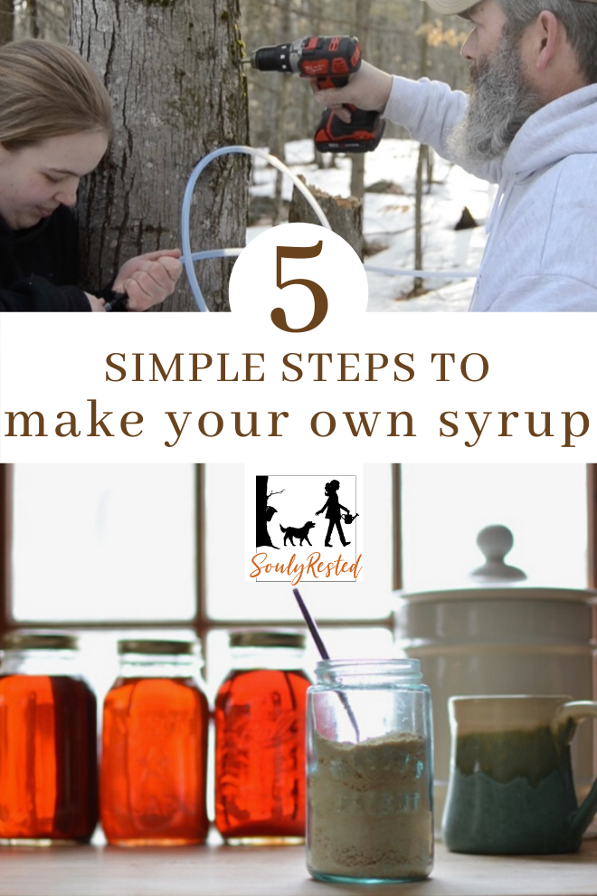 How To Make Maple Syrup Step By Step Soulyrested Diy Maple Syrup Homemade Maple Syrup How To Make Syrup