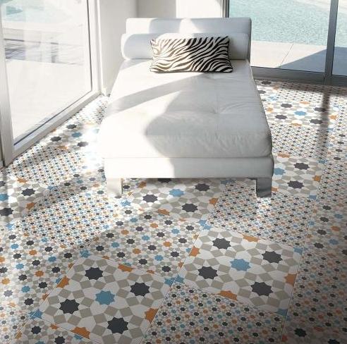Marrakesh Tile Pattern Floor Flooring Tiledealer Feature Floors Colour Hallway Geometric Decor Geometric Floor Style Tile