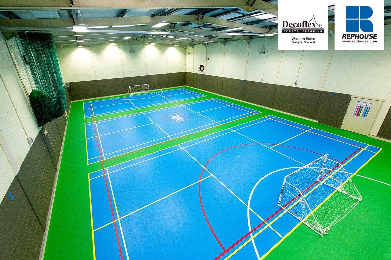Decoflex Universal Indoor Sports Flooring Western Baths Scotland Western Baths Indoor Sports Gym Flooring