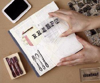 diy rezeptebuch von living at home rezeptb cher weihnachtsgeschenke und kochbuch. Black Bedroom Furniture Sets. Home Design Ideas