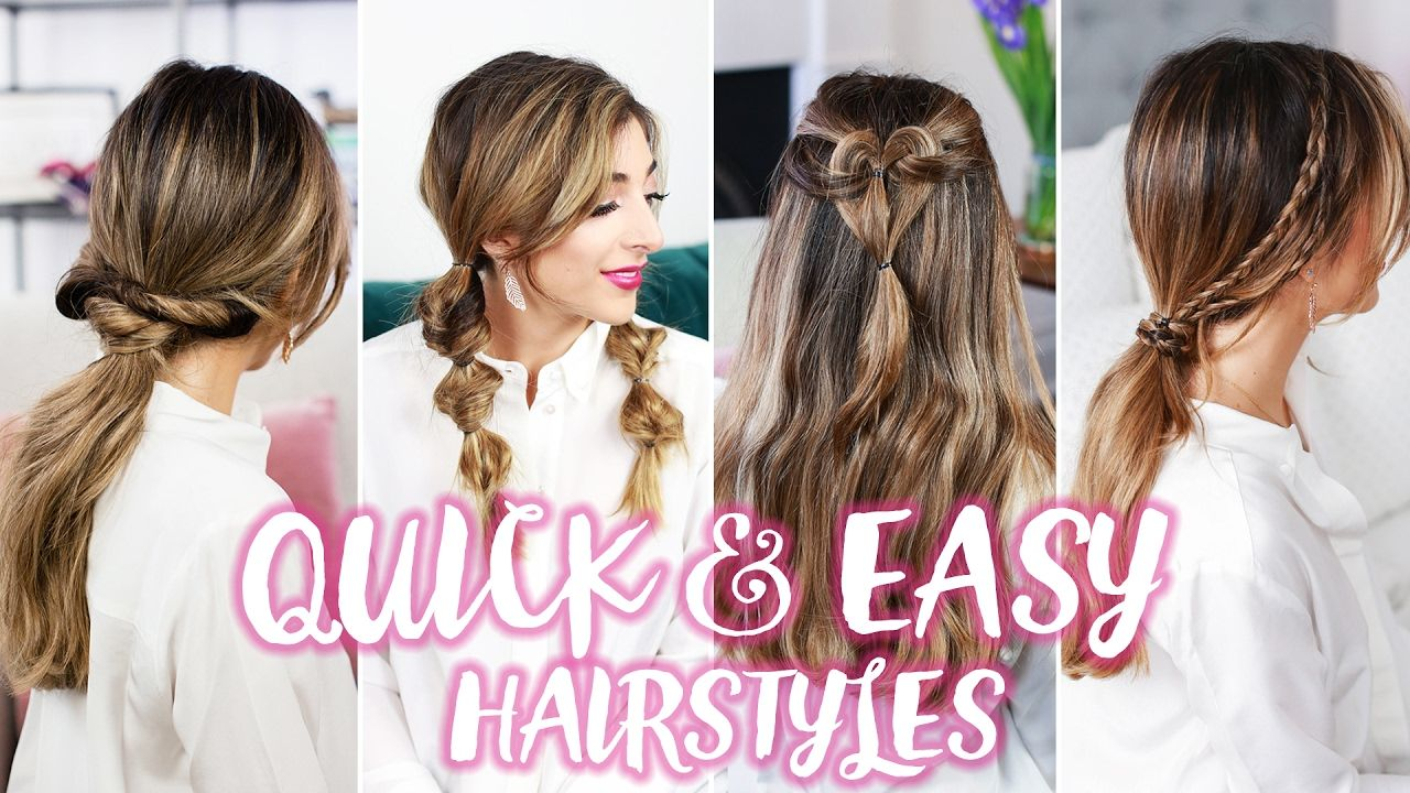 How to quick easy hairstyles amelia liana hair pinterest