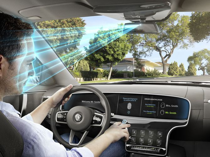Continental Puts Face And Fingerprint Recognition In Cars