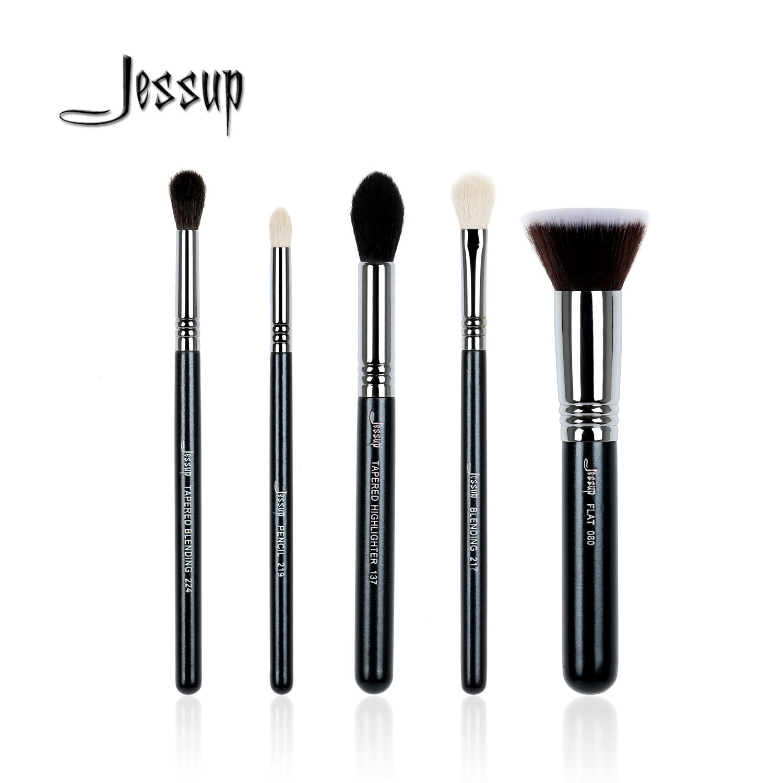 0ee10110c4b compare prices jessup 5pcs high quality pro makeup brush set foundation  blend contour eye shadow #eye #brush #set