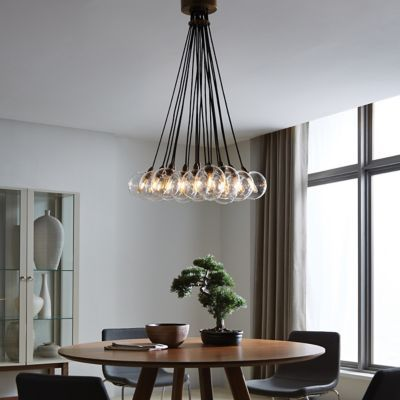 Gambit Multi Light Pendant Contemporary Light Fixtures Led Chandelier Dining Lighting