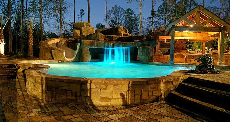 Swimming Pool Grotto   Google Search