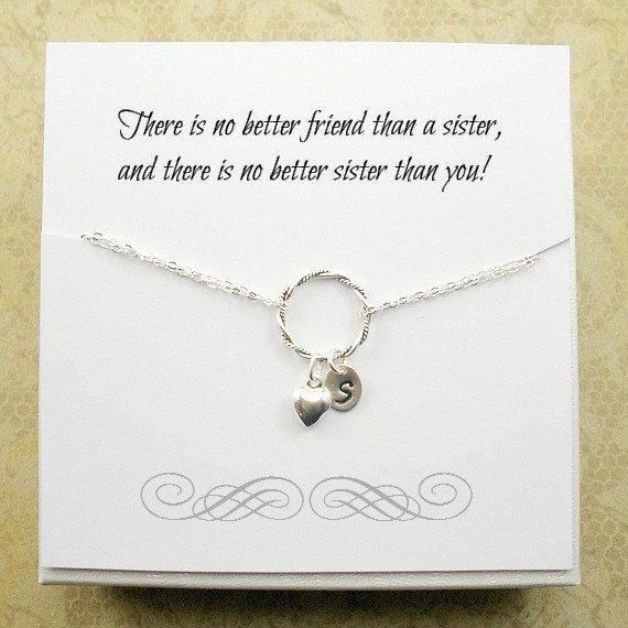 Sterling Silver Sister Bracelet Set Charm Eternity Infinity