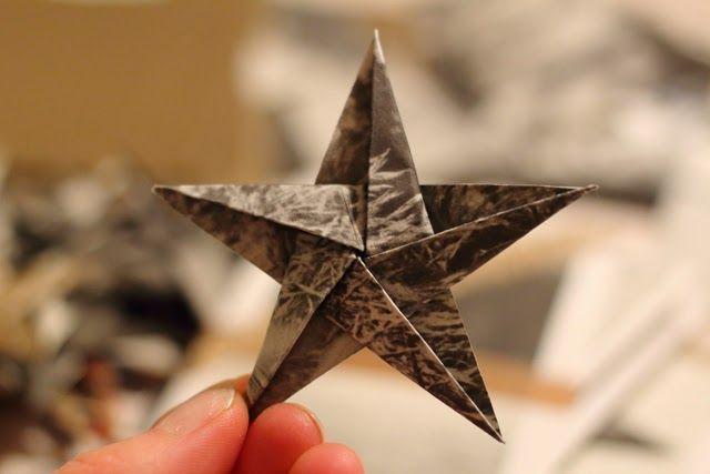 Melkein kuin uusi: Tuiki tuiki origamitähtönen
