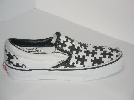 ¡Zapatillas puzzleras!