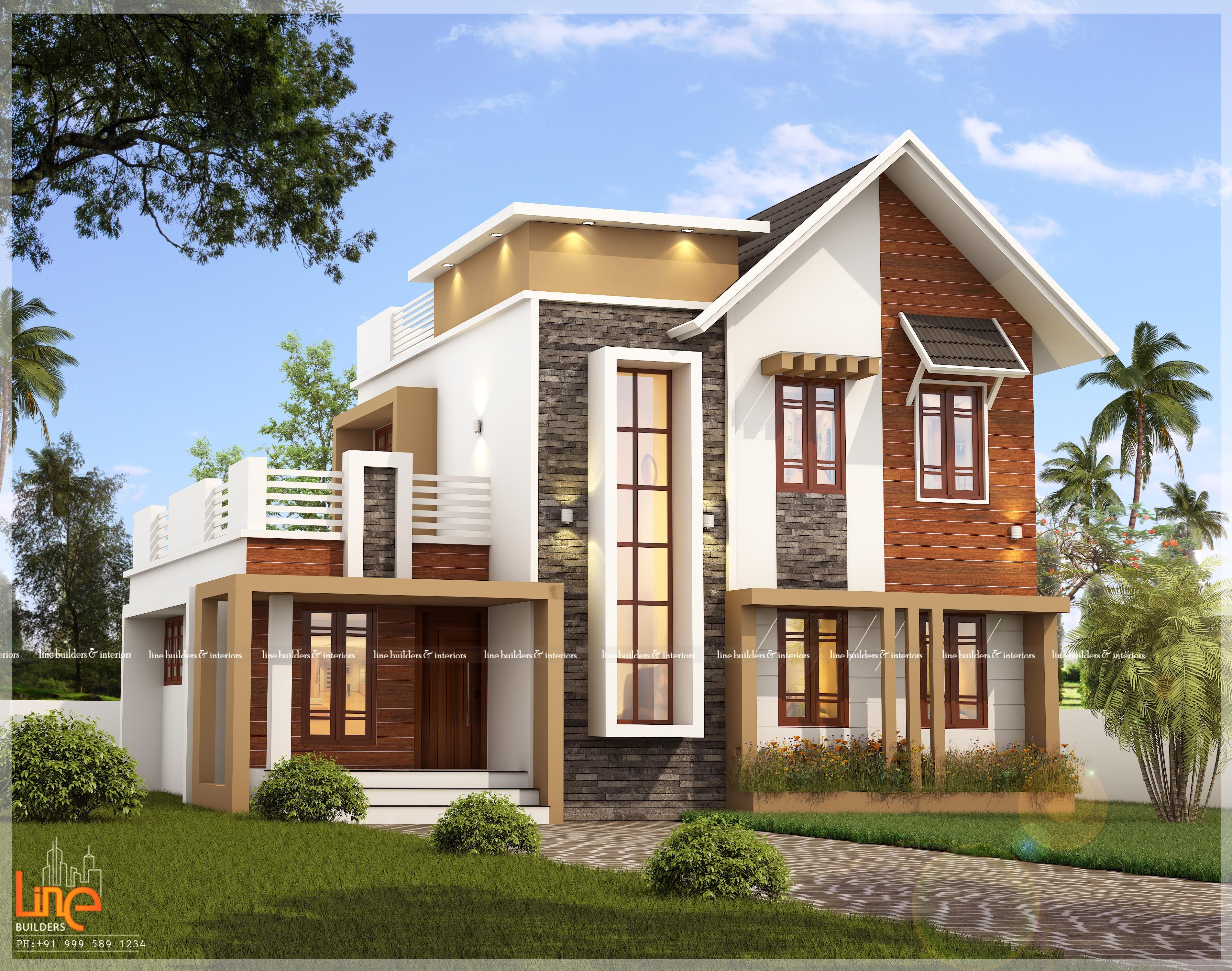 Looking For A Dream Home 31 Lacks Beautifull Budget Homes 1742 Sqft House With 4 Bed Kerala House Design Latest House Designs Model House Plan