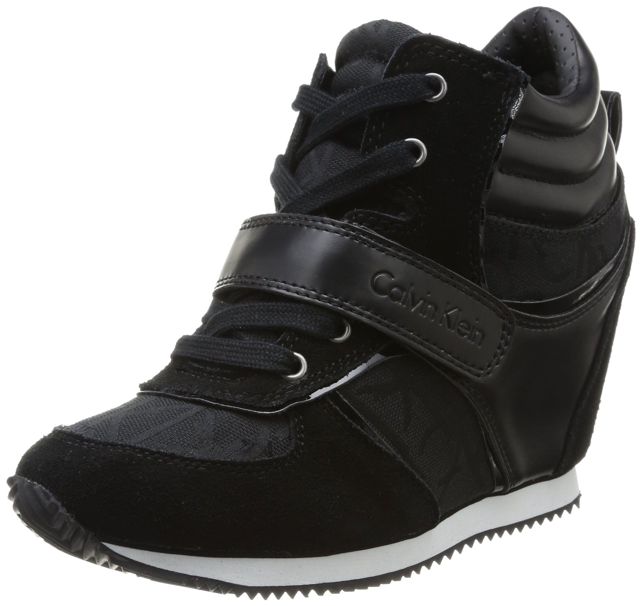 Dalila Soft Nappa, Sneakers Basses Femme, Noir (Black), 40 EUCalvin Klein Jeans