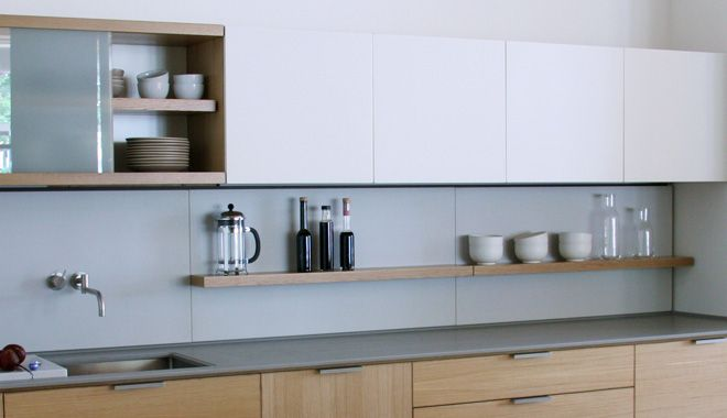 Shelf in kitchen bw ctops and wall cabinets great idea for Additional shelves for kitchen cabinets