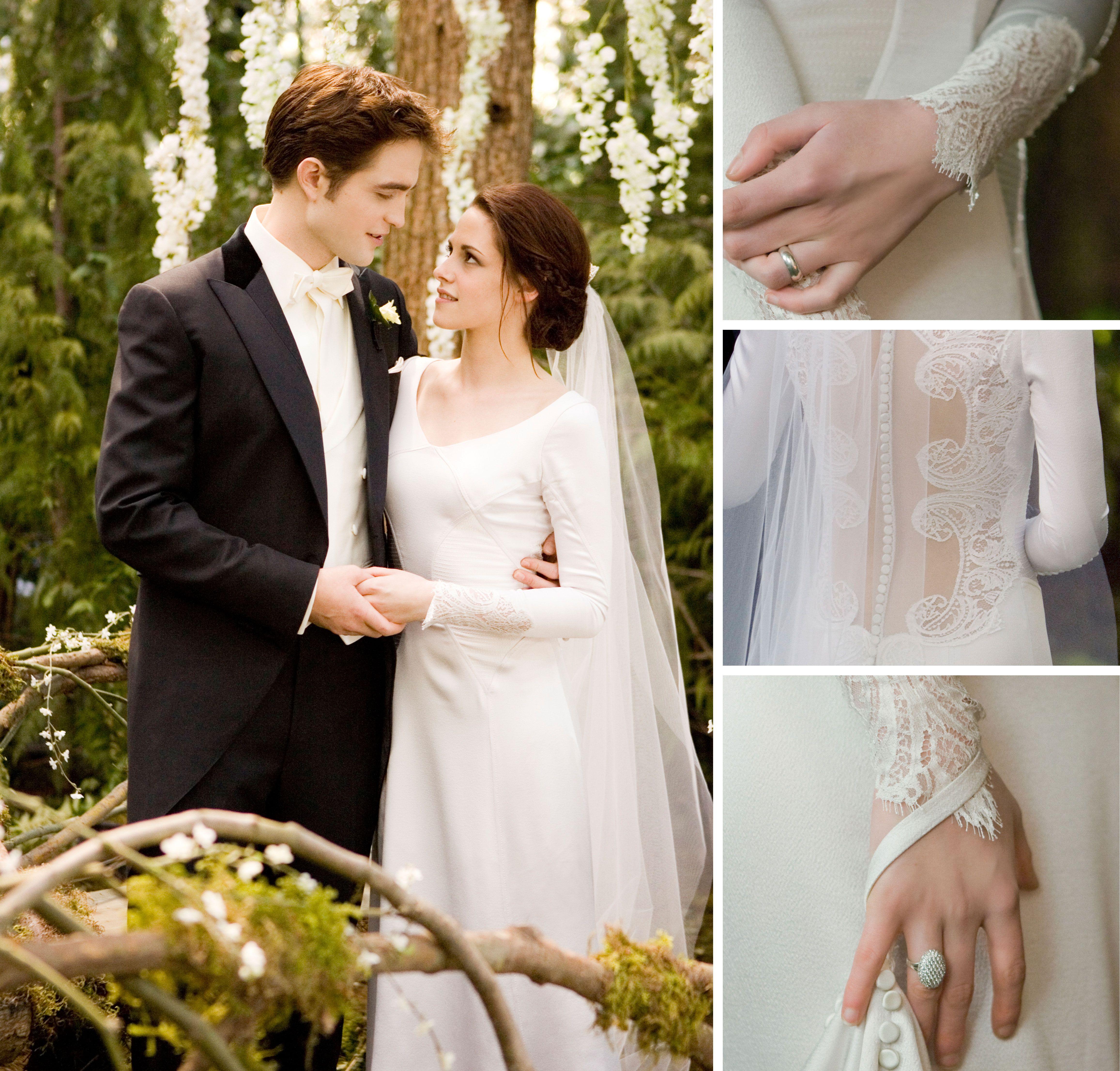 Bella's wedding dress in breaking dawn  Twilight EDWAARDDDDDD BELLAAAAA  k  Pinterest  Weddings and Recipes