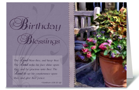 Birthday blessings bible verse greeting card birthdays birthday blessings bible verse greeting card m4hsunfo