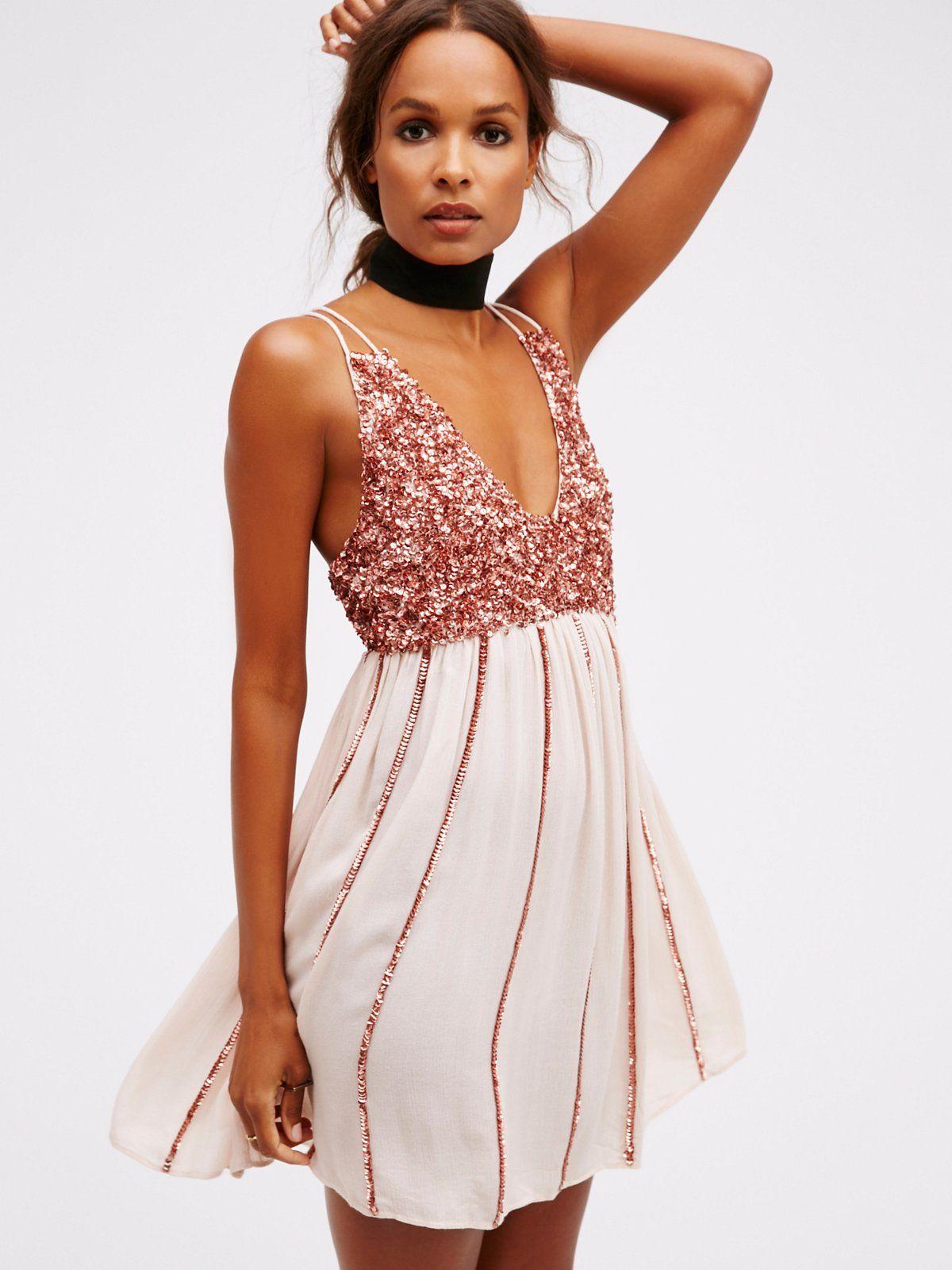 Glitter Girl Slip | Pinterest | Abendmode, Kleider und Nähen