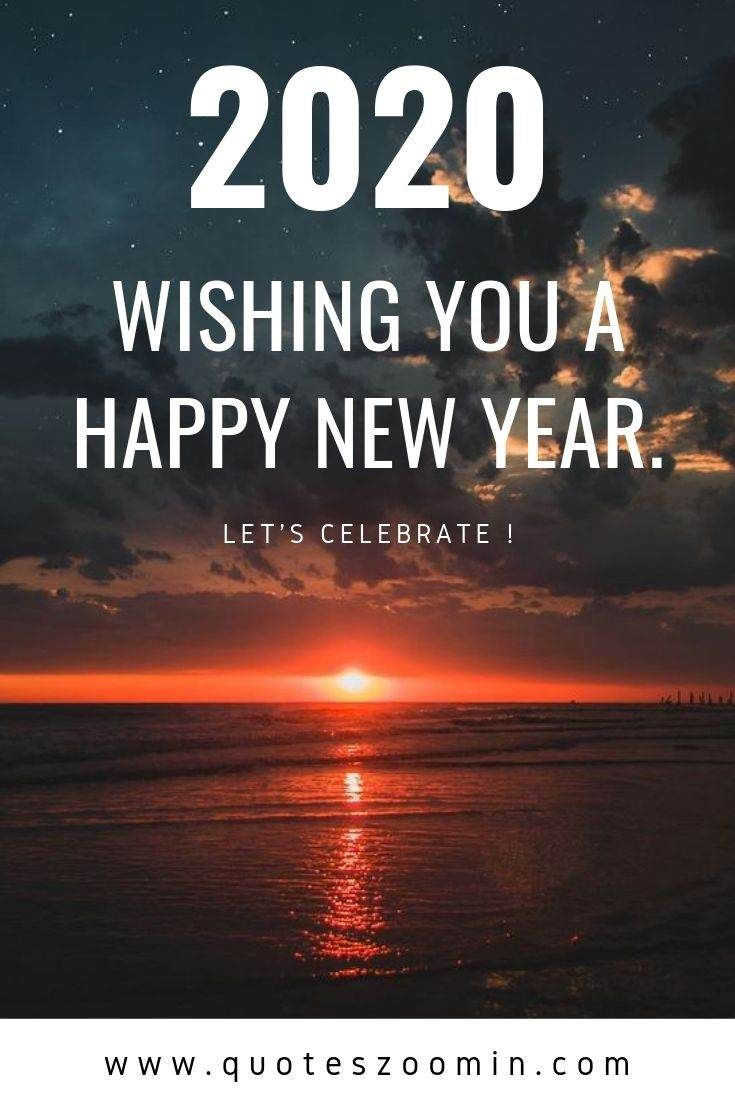 New year messages in english 2020. A new year is like a ...
