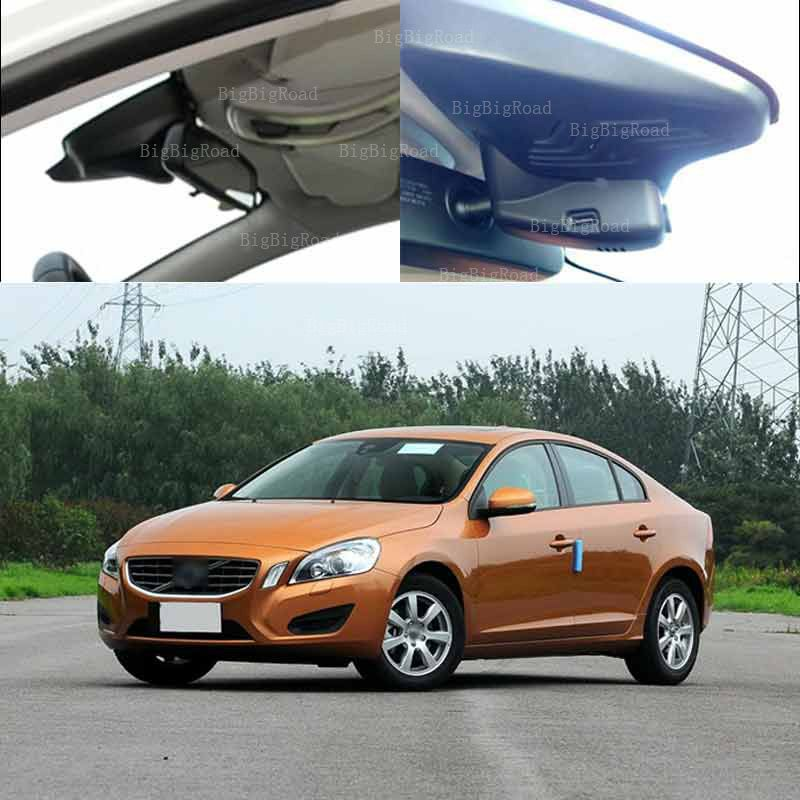 Used 2012 Volvo S60: BigBigRoad For Volvo S60 2012 Car Front Camera Driving
