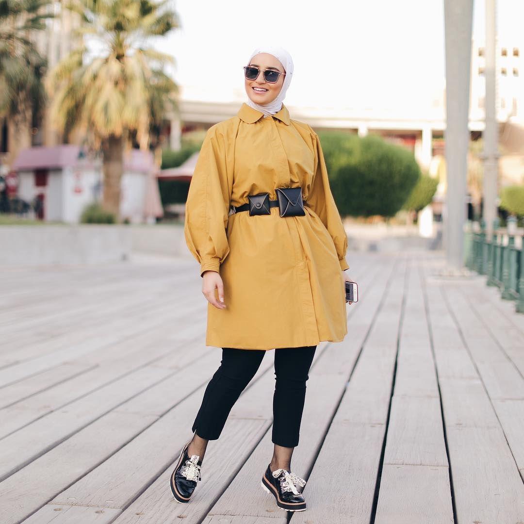 L Image Contient Peut Etre 1 Personne Hijab Fashion Fashion Hijab Casual