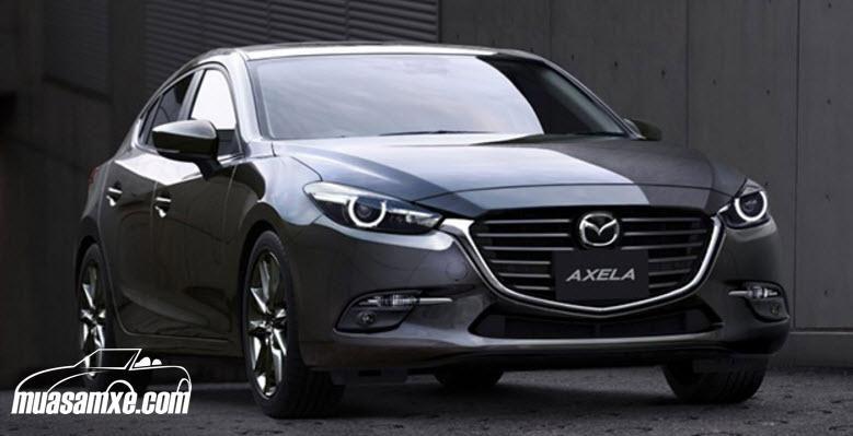 Xe Mazda 3 2018 giá bao nhiêu? Khi nào về Việt Nam? Mazda 3 2018 đang được vận chuyển đến với các đại lý ở Mỹ. Bản nâng cấp này có một số thay đổi nhỏ nhưng đáng chú ý như hệ thống hỗ trợ phanh trong thành phố thông minh (Smart City Brake Support). Phiên bản Mazda 3 Sport được trang bị nút bấm khởi động, cửa sổ chỉnh điện và hệ thống giải trí Mazda Connect 7-inch. Cung cấp sức mạnh cho mẫu xe này là khối động cơ 4 xi-lanh 2.0 lít công suất 155 mã lực.  https://muasamxe.com/mazda3-2018/