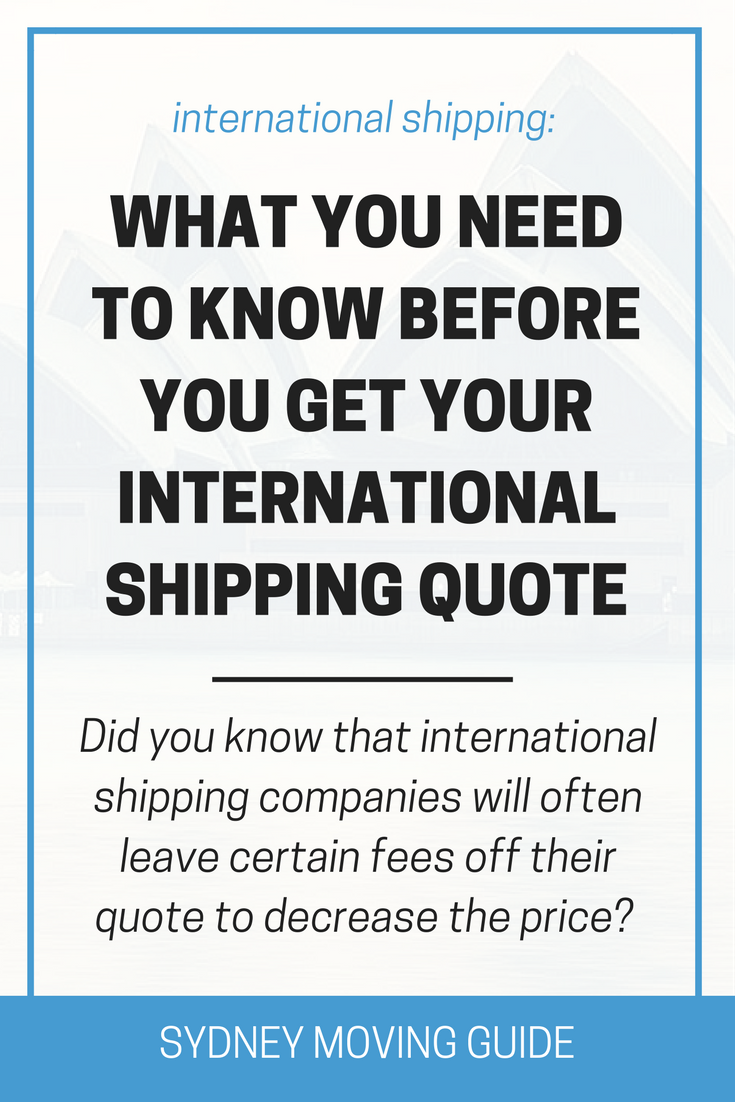 Moving Quote Inspiration What You Need To Know Before Getting Your International Moving Quote . Design Ideas
