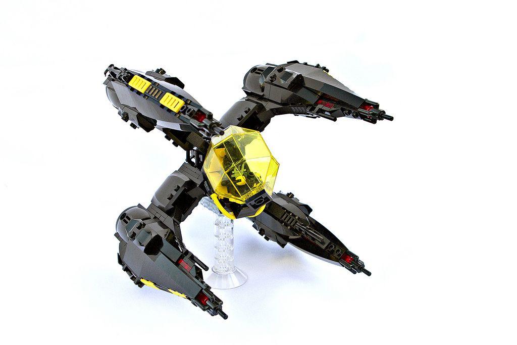 LEGO MOC | Blacktron X4(E) 'Erinys' #space