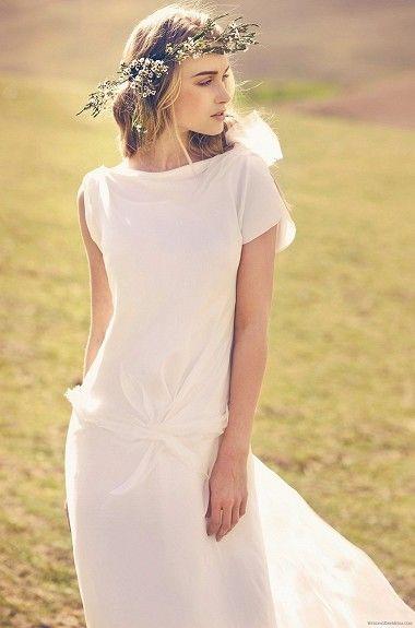 c7cdc7e7 Enkel, men elegant brudekjole i silke fra Rembo Styling (3500 kr) - FINN  Torget #finnfunn
