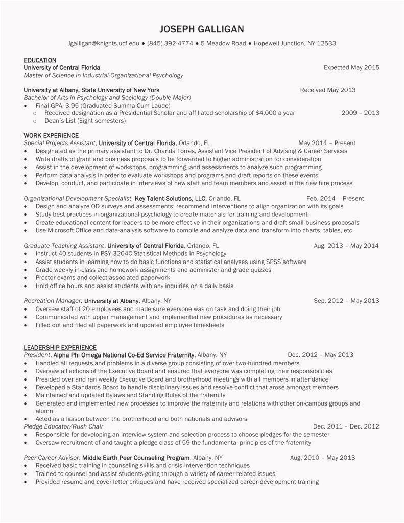 hr business partner resume template