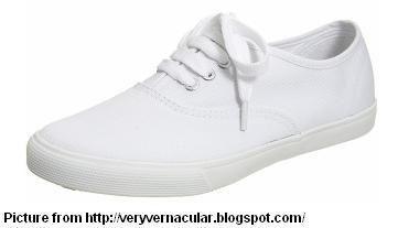 School shoes, Cream shoes