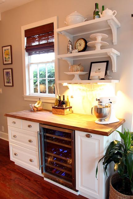 Using IKEA items for unintended purposes can have really fun results - IKEA Hackers: NUMERAR   AKURUM   DIY = Chic Wine Bar