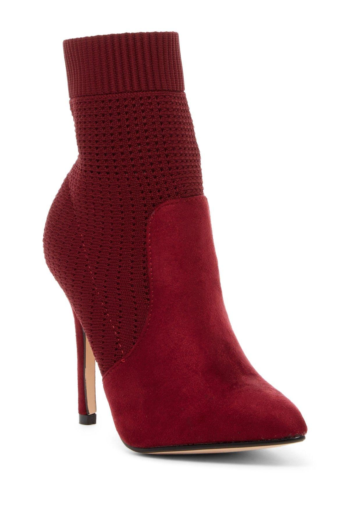 d453a638dd7 Catherine Catherine Malandrino Knat Sock Stiletto Heel Bootie ...