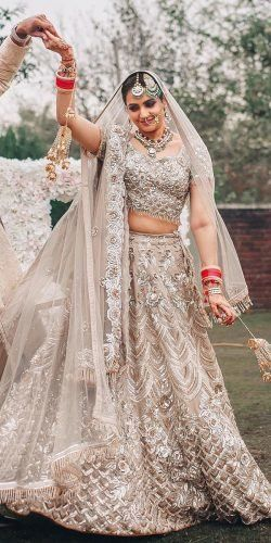 30 Exciting Indian Wedding Dresses That You'll Love #saridress
