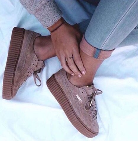 3fed82a6831 Tendance Basket 2017 Les sneakers Creeper Puma by Rihanna