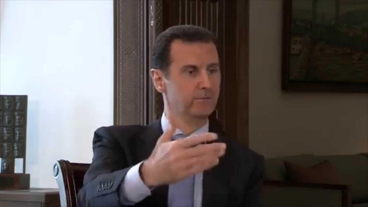 الرئيس الأسد في مقابلة مع قناة (فرانس2) الفرنسية