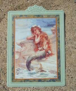 mermaid shower curtain   Nautical Ocean Seaside Tropical Beach Home MERMAID Decor Sign NEW