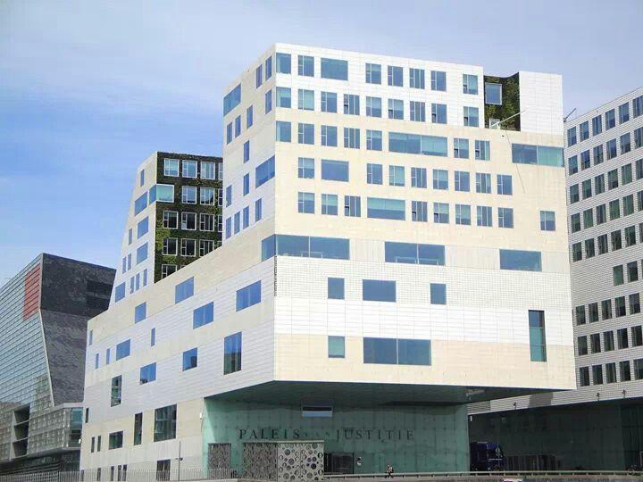 Amsterdam, IJdock, Paleis van Justitie