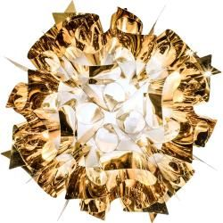 Photo of Slamp Veli Gold / Silver / Copper Wand- und Deckenleuchte, Veli (53 cm), Gold Slamp