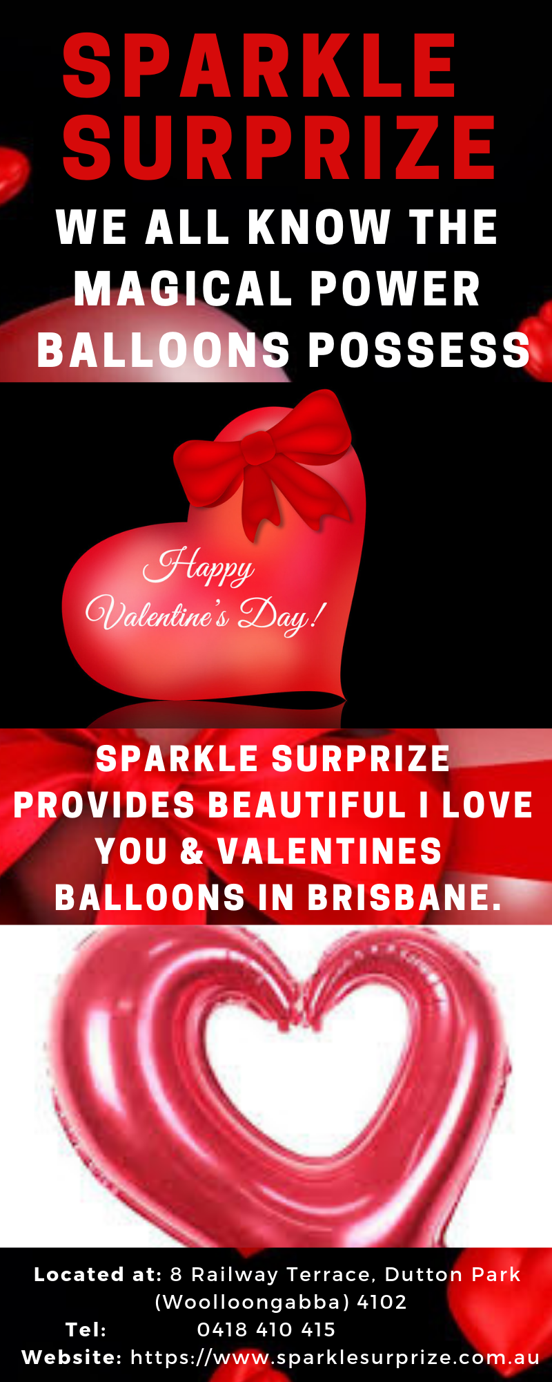 Valentine's Day balloon gifts, It's unique Gift Ideas of Romance & Love delivered. Send
