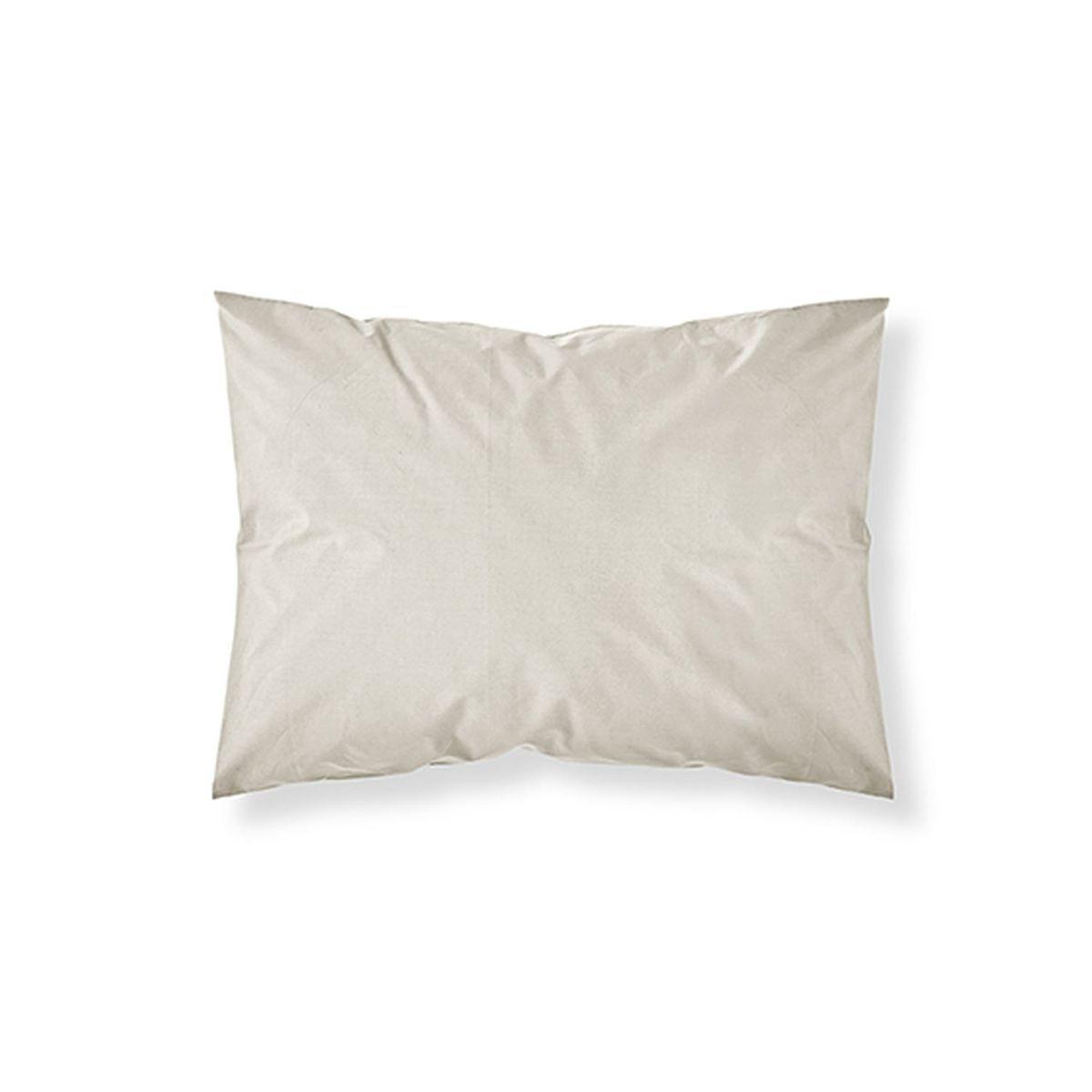 Taie d'oreiller gris anthracite , 100% coton 57 fils 75 x 75 cm