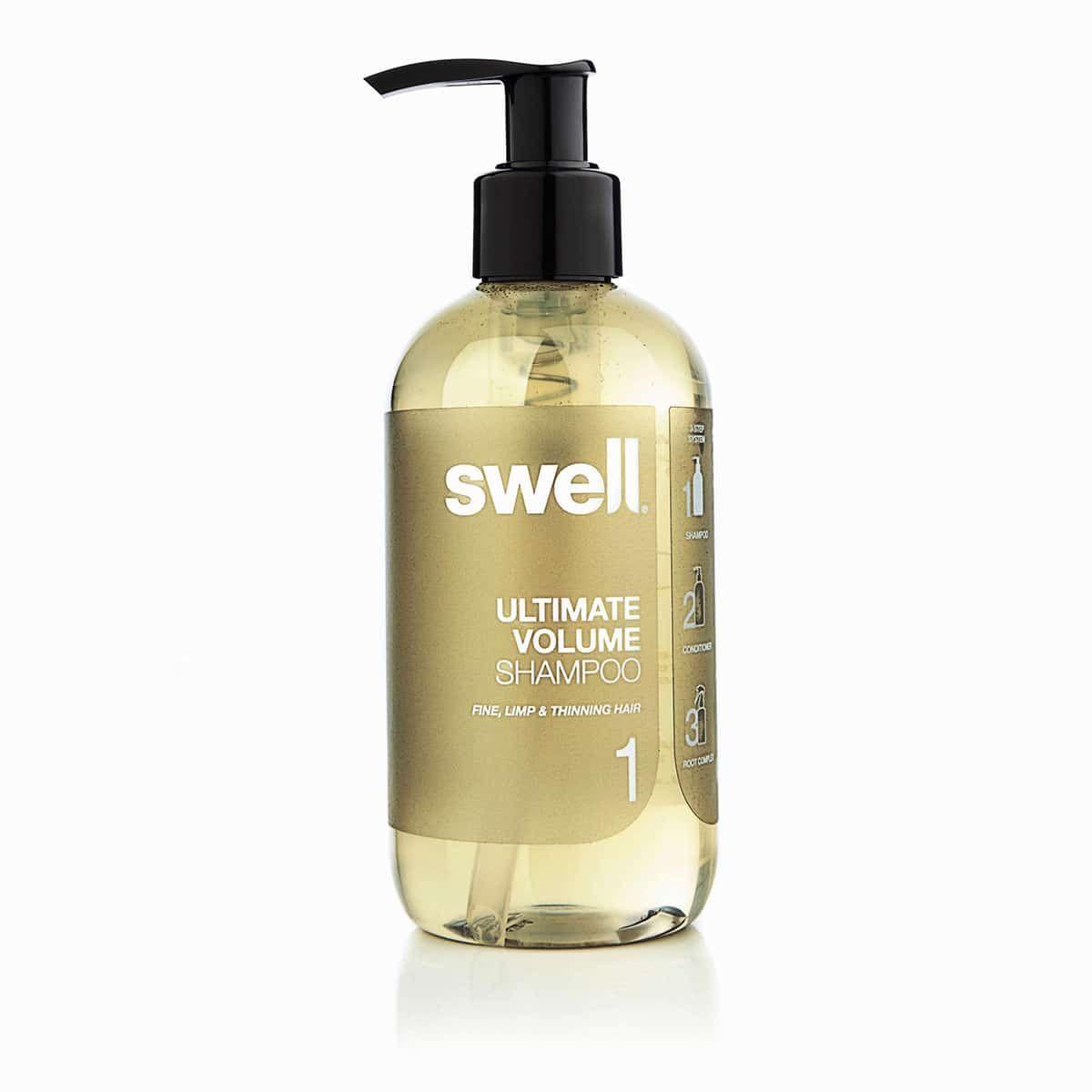 Swell Shampoo Biedt Geweldige Resultaten Zonder Het Haar Te Beschadigen De Shampoo Is Stap 1 In Het Volume Pakket Van Swell En Geeft Pra Shampoo Dun Haar Haar