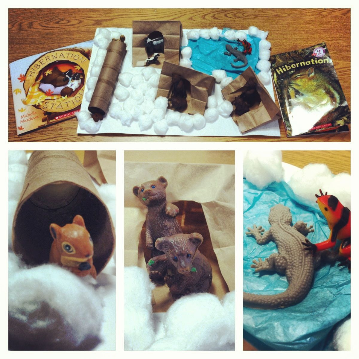 Hibernation great for preschoolers! And a great way for