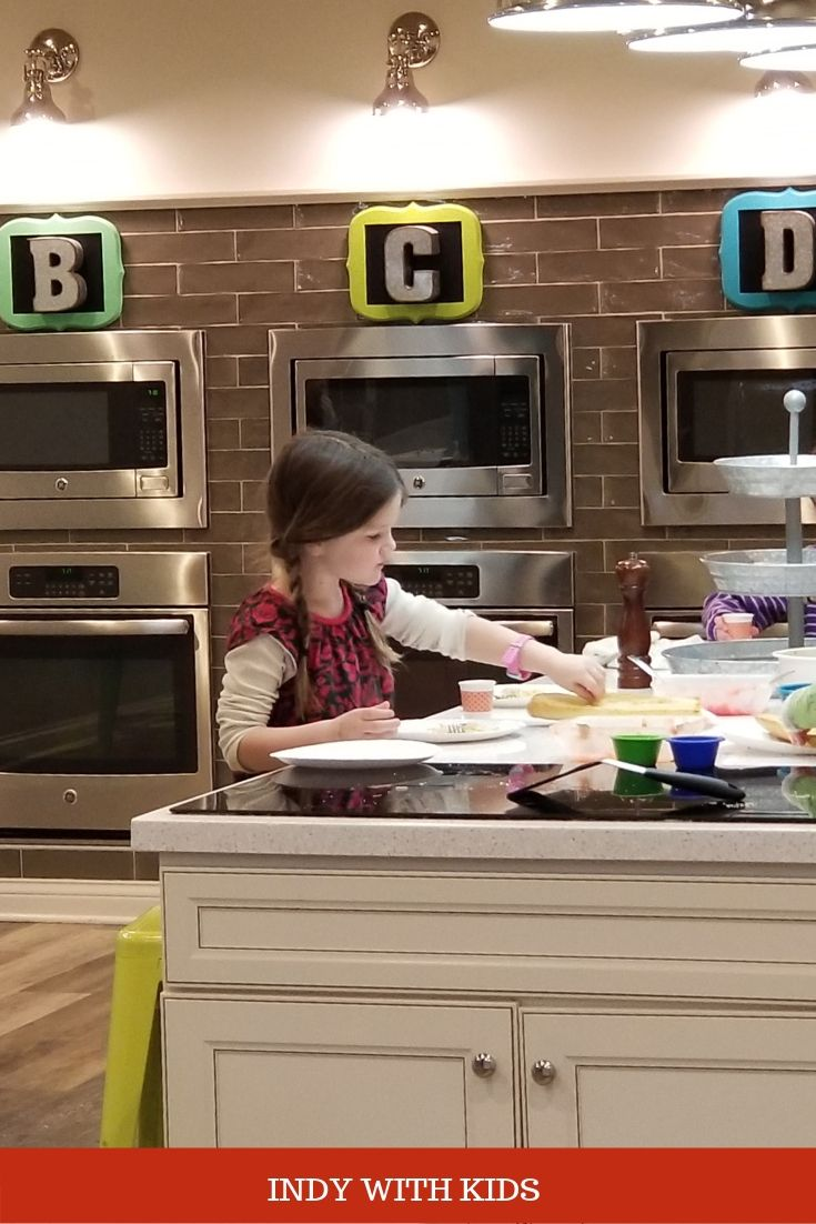 Cooking classes for kids in and near indianapolis indy