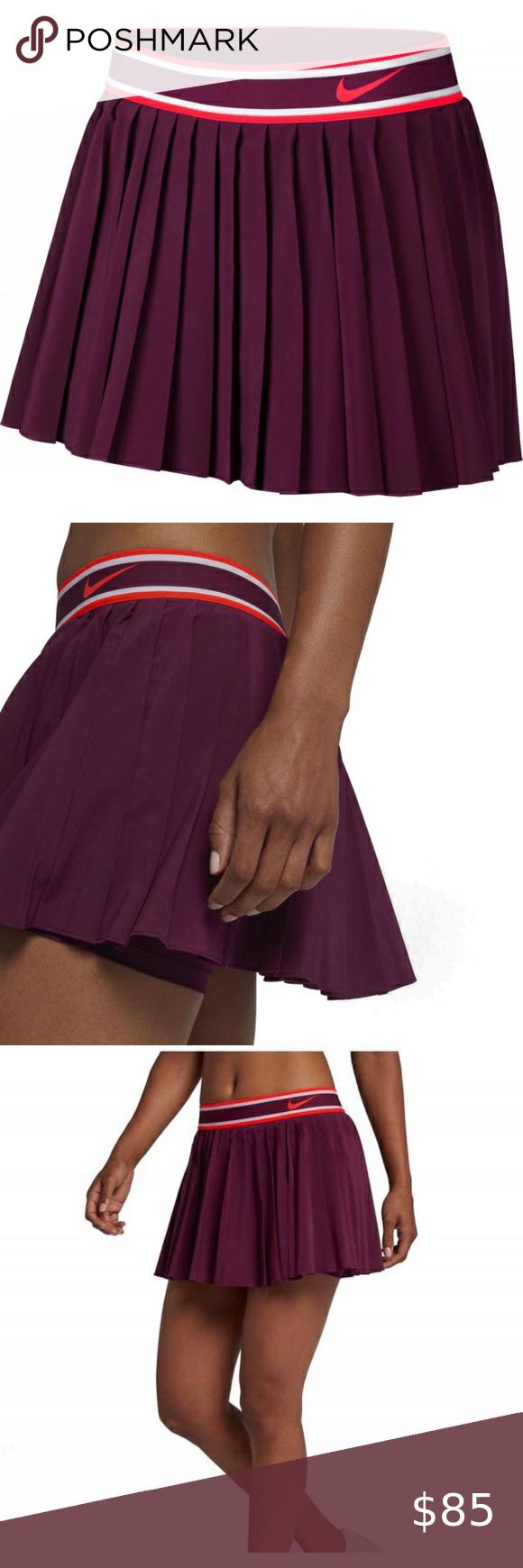 Nwt Nike Victory Court Pleated Tennis Skirt Lg Nwt Nike Victory Court Pleated Tennis Skirt Size Large New With T In 2020 Pleated Tennis Skirt Tennis Skirt Nike Skirts