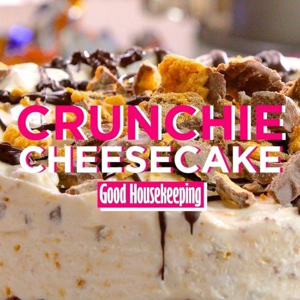 Cadbury crunchie cake