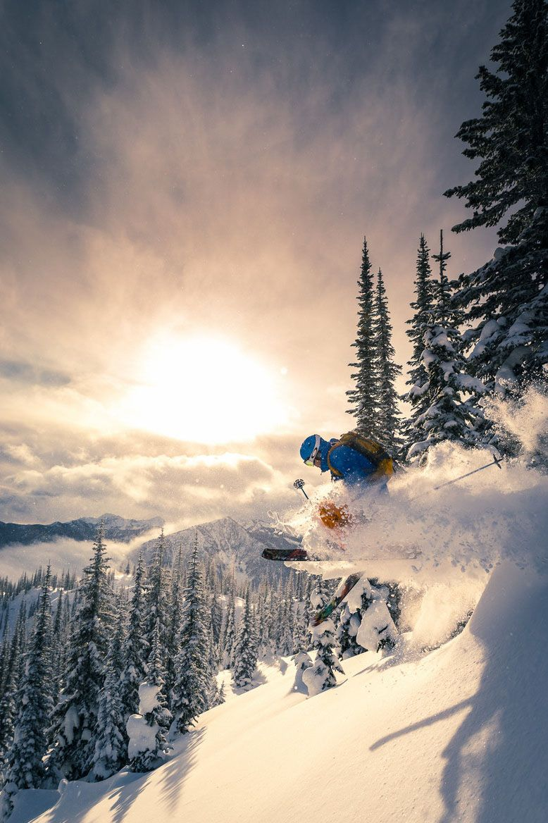Pulverulence by (Geoff Holman) Skiing photography