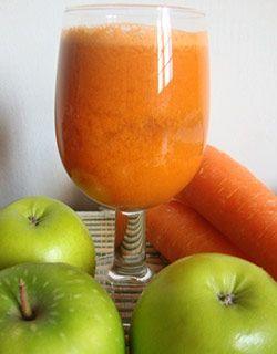 piña y manzana verde para adelgazar