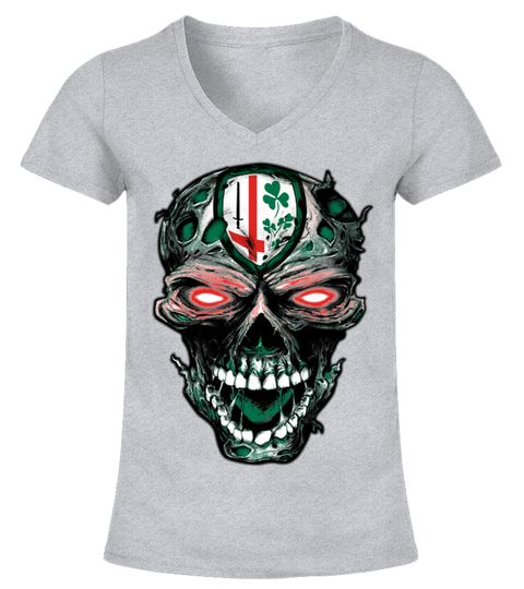 6acaf150874 London Irish Rugby Skull :Price 23.98 € Meaning gifts for Irish Saint  Patrick's Day lucky shamrock clover