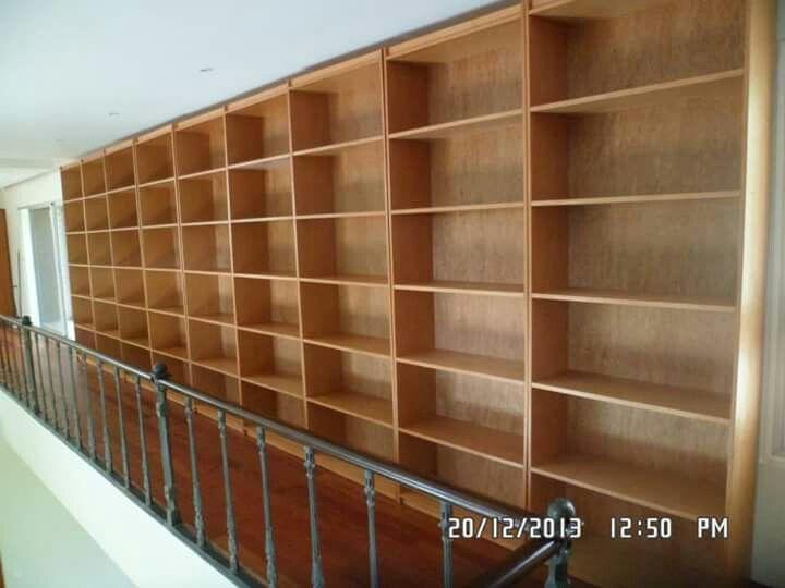 La gran biblioteca.